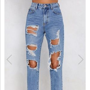 Brand new nastygal jeans